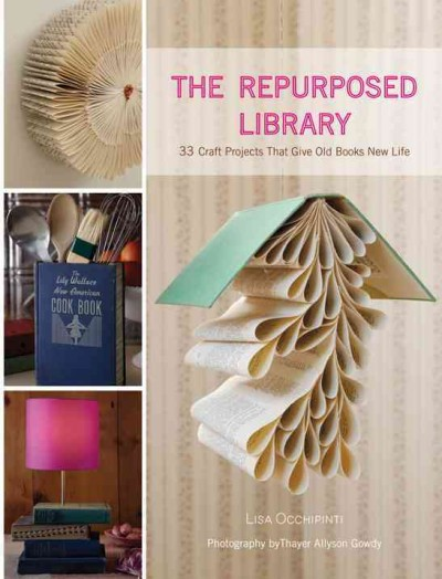 7 Fabulous Ways to Repurpose an Old Book